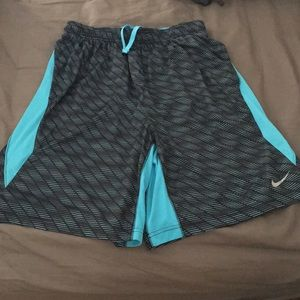 Men's nike dri fit training shorts